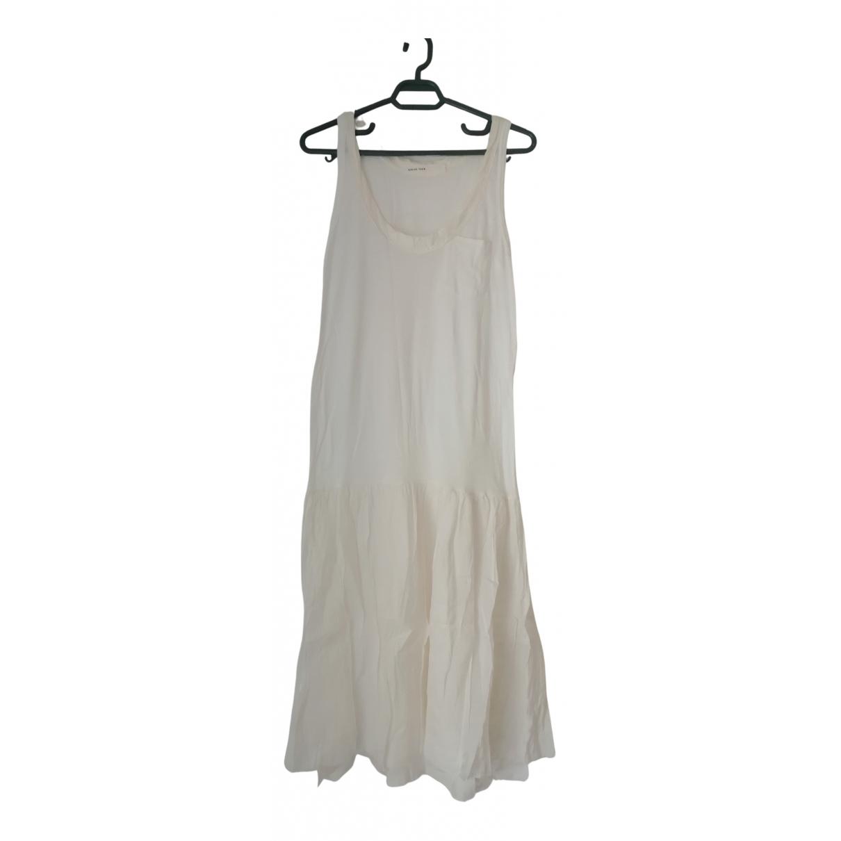 Sacai Luck \N Kleid in  Weiss Baumwolle