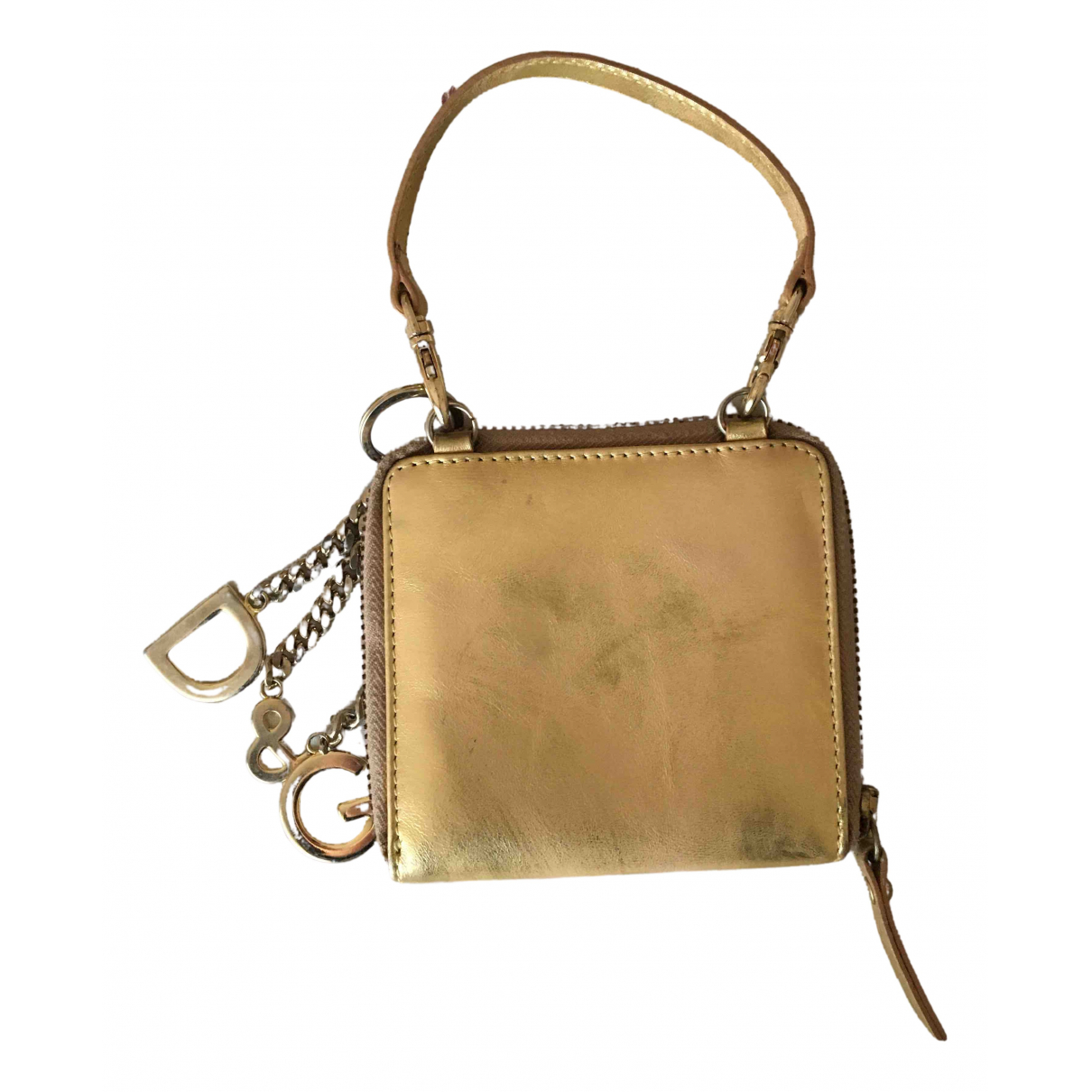 Dolce & Gabbana \N Clutch in  Gold Leder