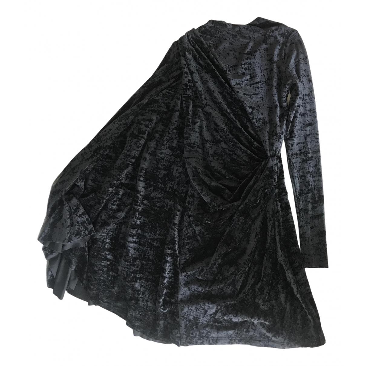 Balenciaga \N Blue Velvet dress for Women 10 UK