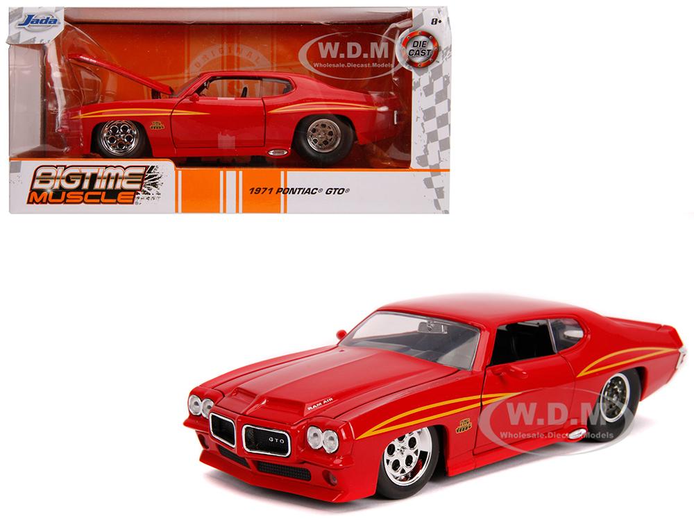 1971 Pontiac GTO Judge Glossy Red
