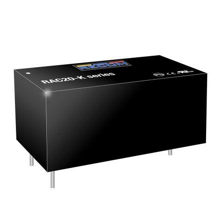 Recom , 20W Encapsulated Switch Mode Power Supply, 24V dc