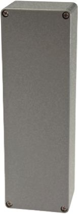 Fibox Euronord, Natural Aluminium Enclosure, IP65, IP66, IP67, 252 x 81 x 56.5mm