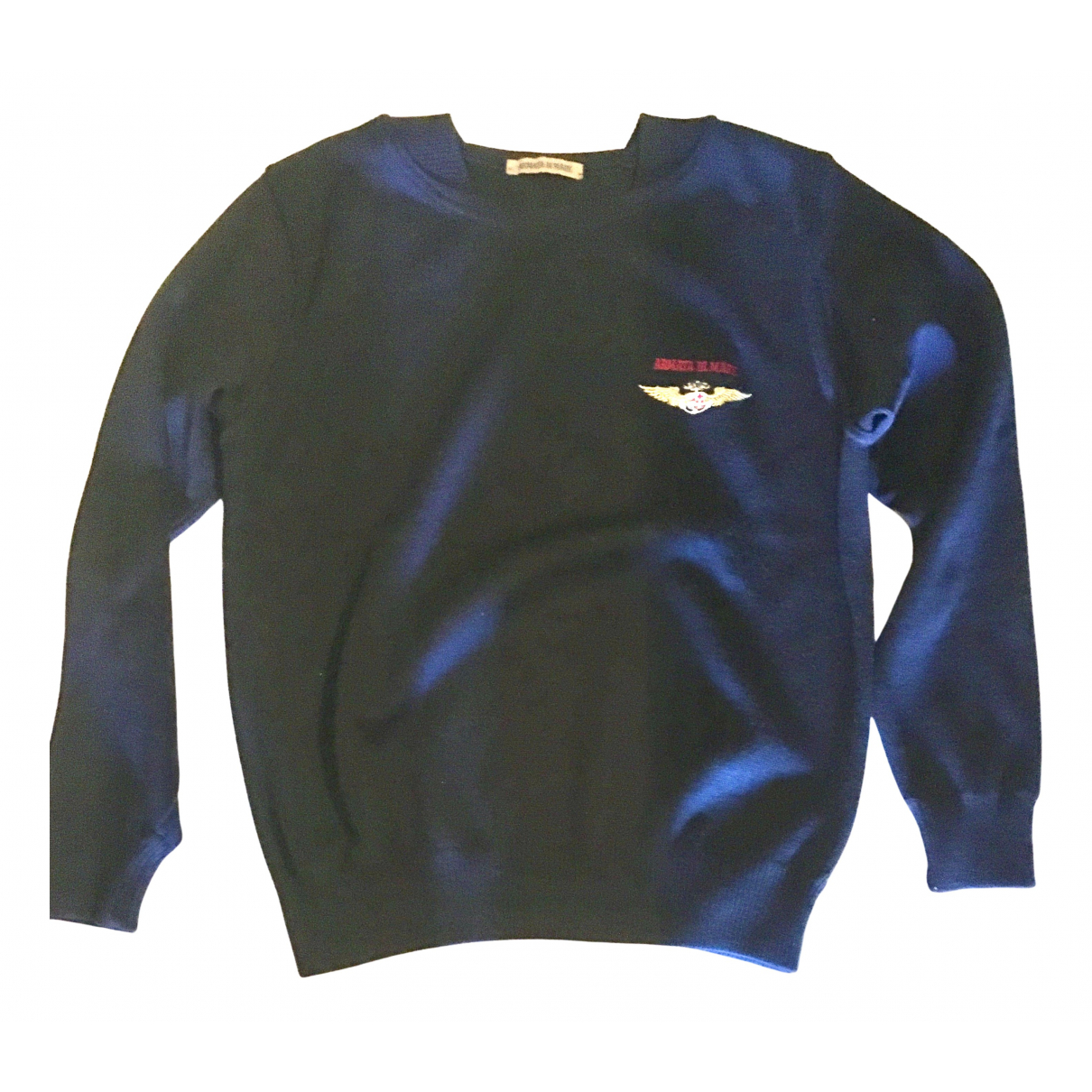 Non Signé / Unsigned \N Blue Wool Knitwear & Sweatshirts for Men M International