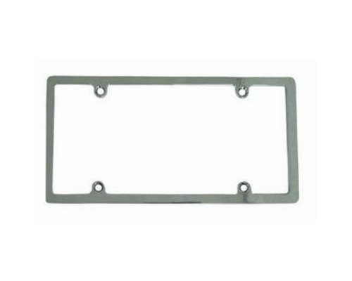 Racing Power Company R6070 Chrome Aluminum License Plate Frame Without Light