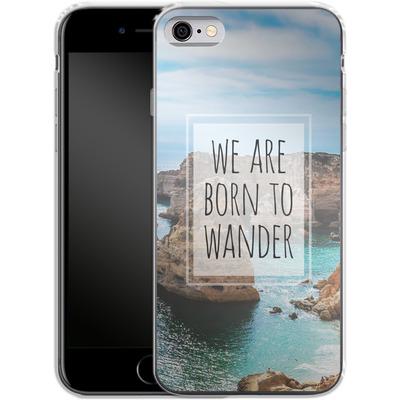 Apple iPhone 6s Silikon Handyhuelle - Born to Wander von Joel Perroden