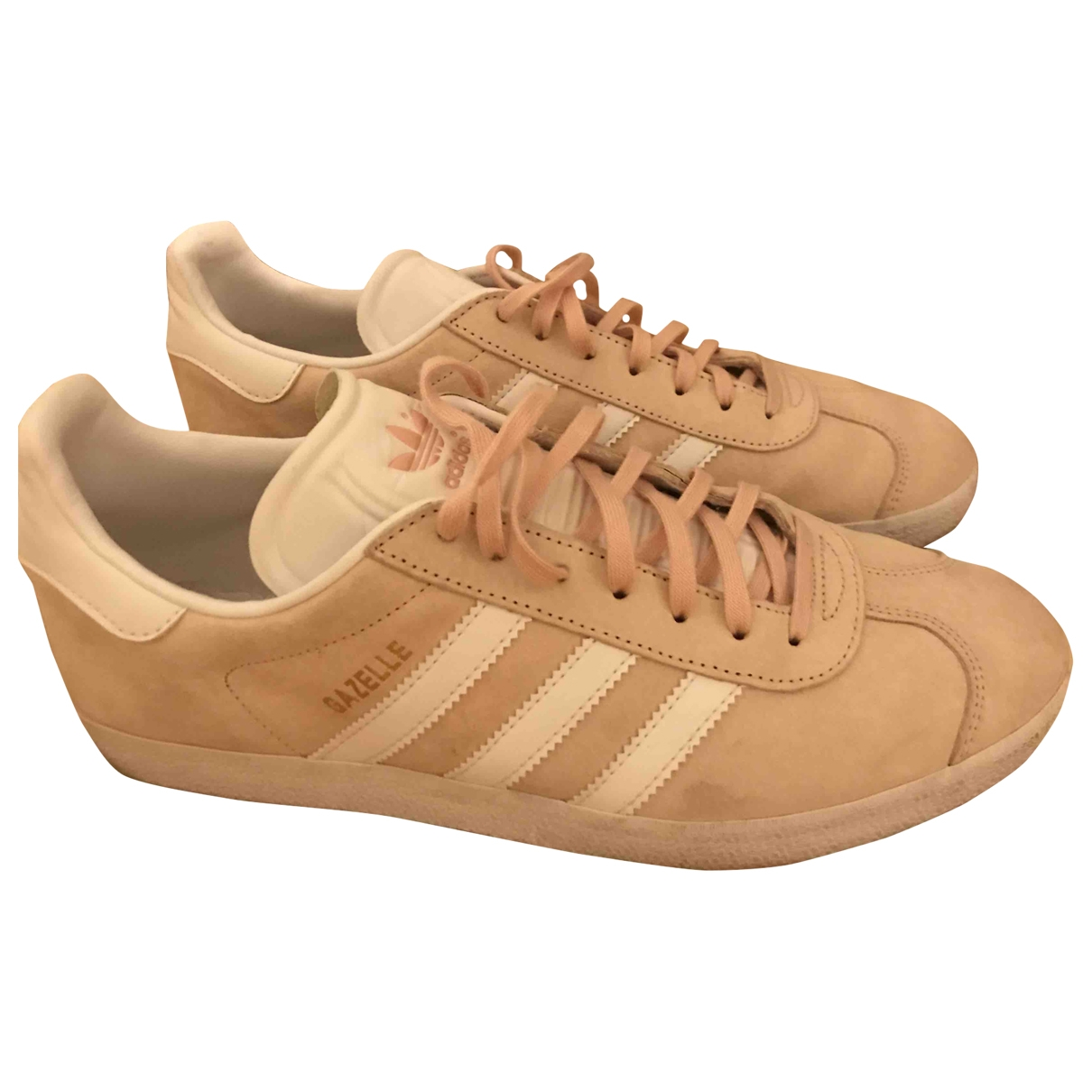 Adidas Gazelle Pink Suede Trainers for Men 44 EU