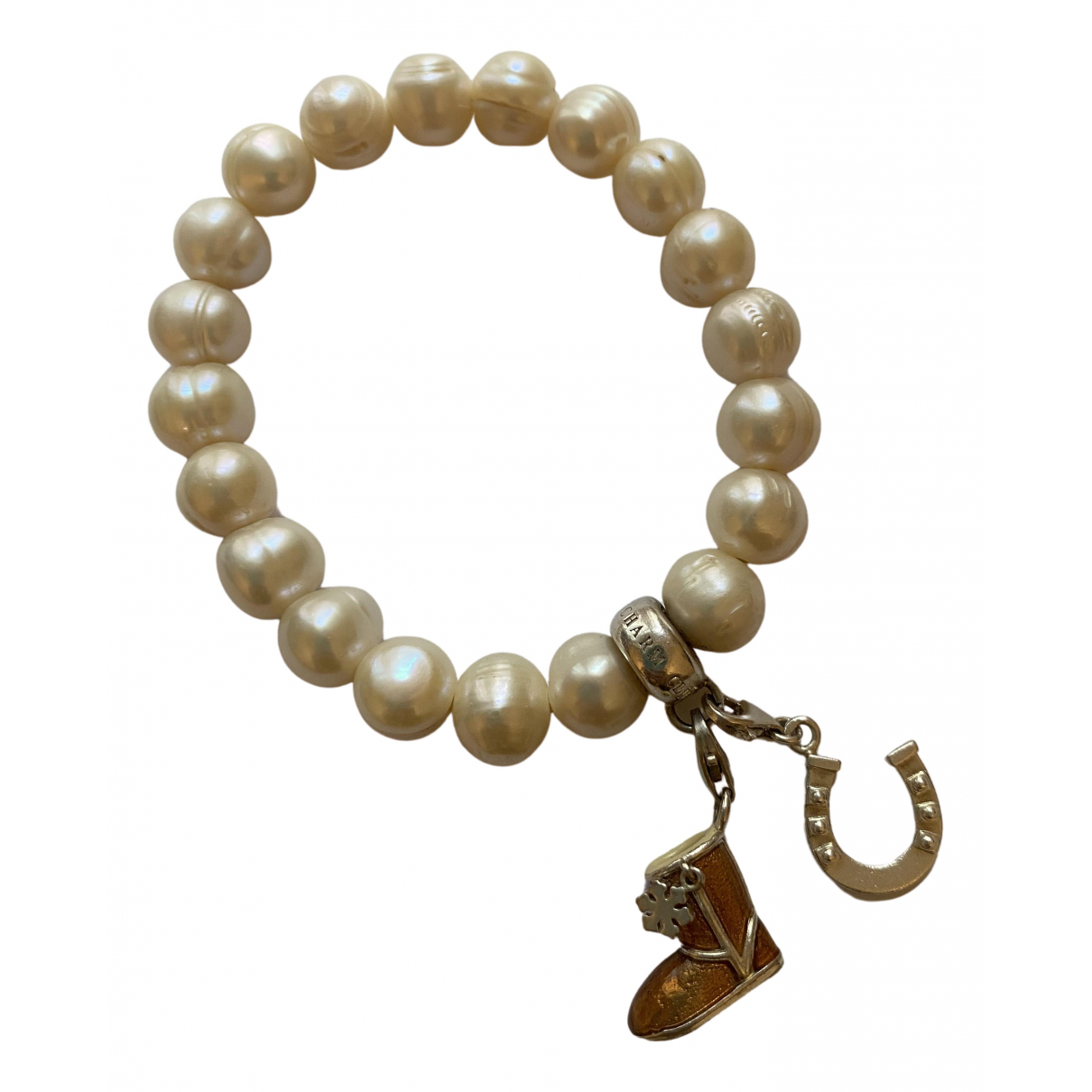 Thomas Sabo - Bracelet   pour femme en perles - blanc