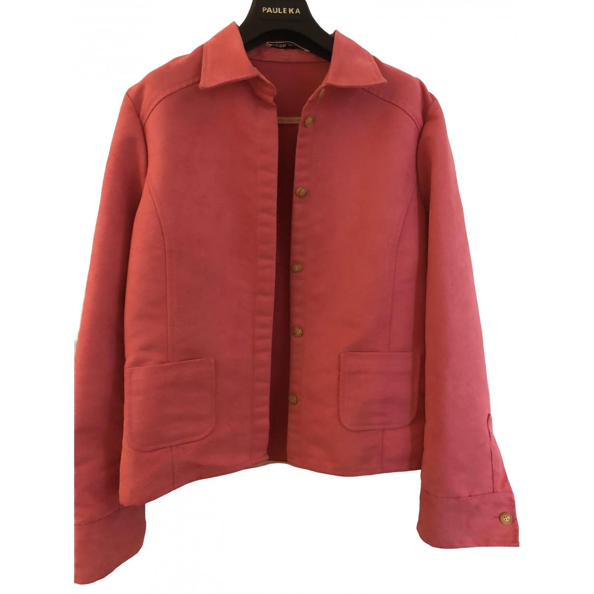 - Veste   pour femme en coton - rose