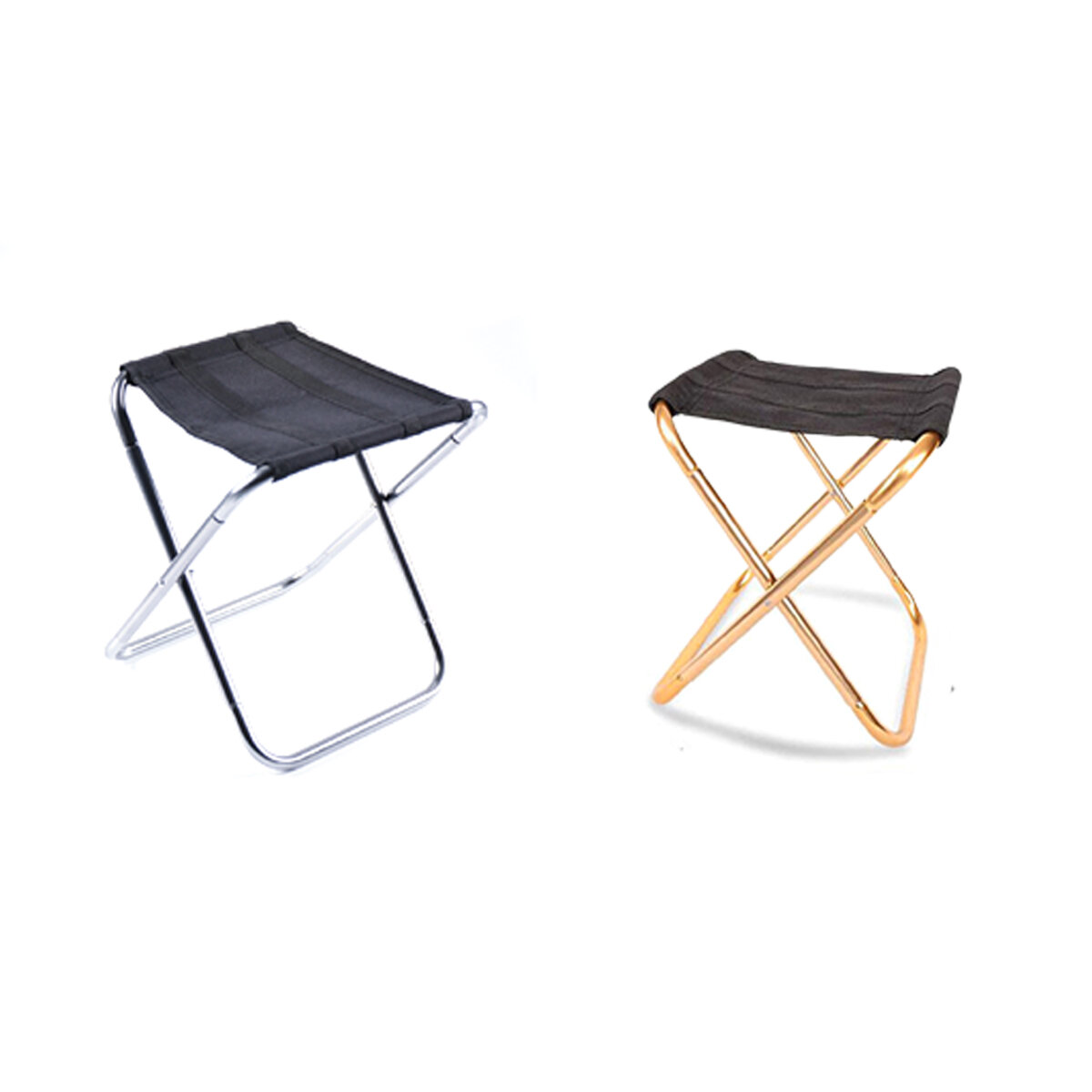Outdoor Camping Folding Chair Aluminum Alloy Aviation Aluminum Fishing Chair Portable Folding Stool