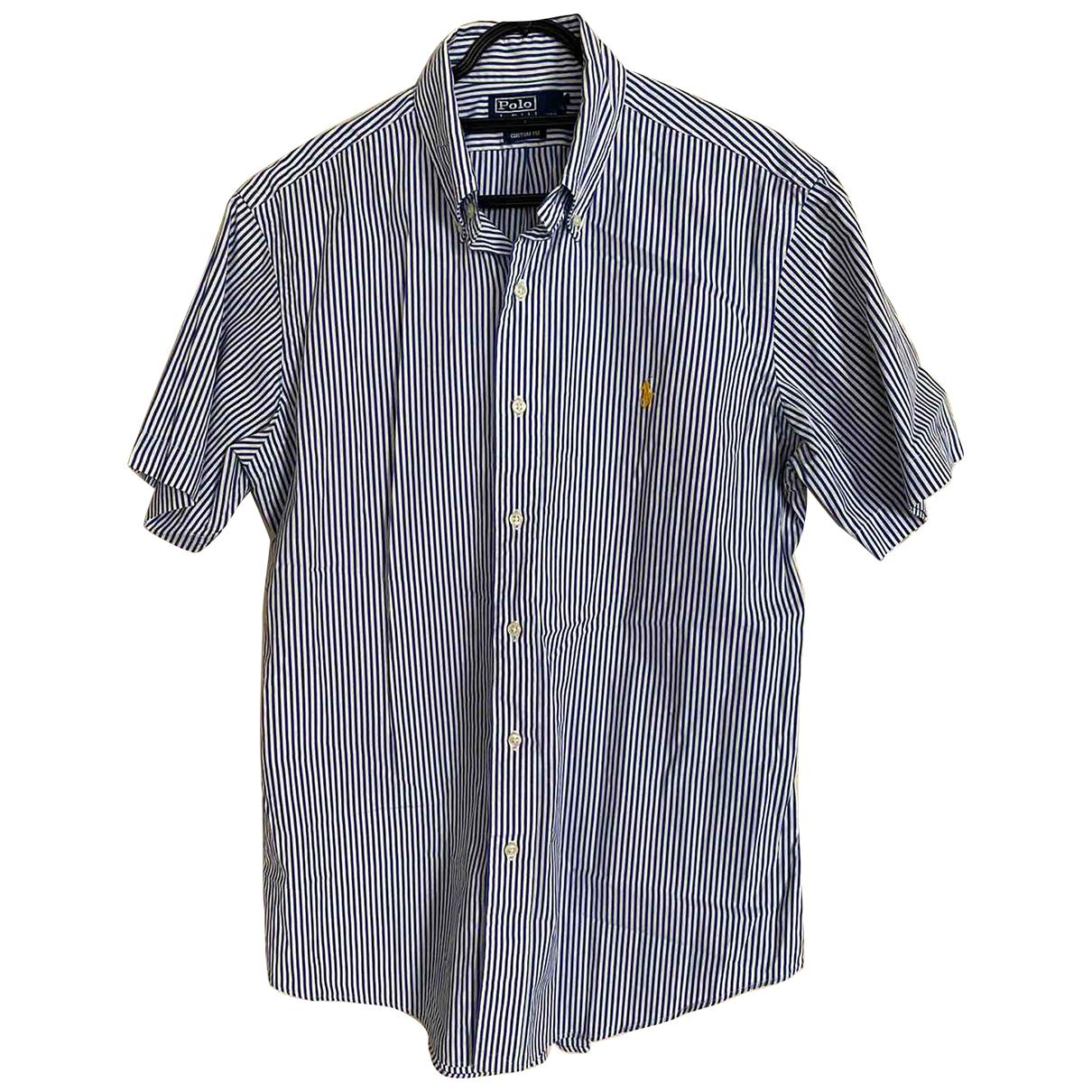 Polo Ralph Lauren - Chemises   pour homme en coton - marine