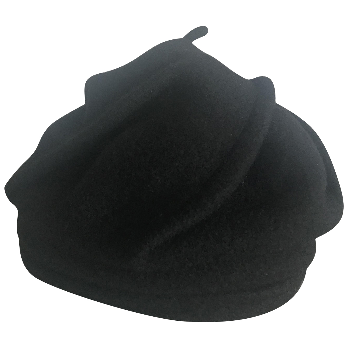 Celine Robert \N Black Wool hat for Women 55 cm