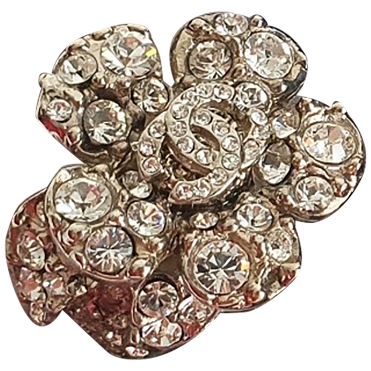 Chanel - Bague   pour femme en acier - metallise