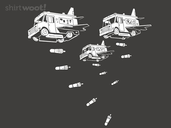 Suburban Blitzkrieg Remix - Asphalt T Shirt