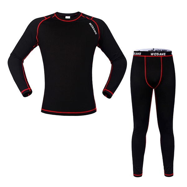 Men's Simple Style 3D Padded Long Sleeve Jersey Biking Outfit Cycling Clothing