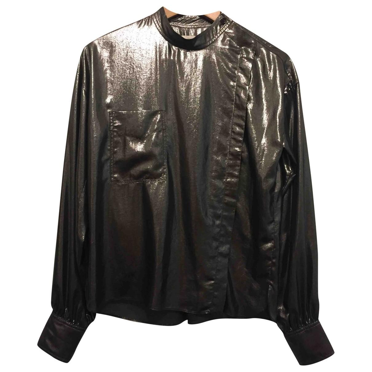 Isabel Marant Etoile \N Top in  Metallic Polyester