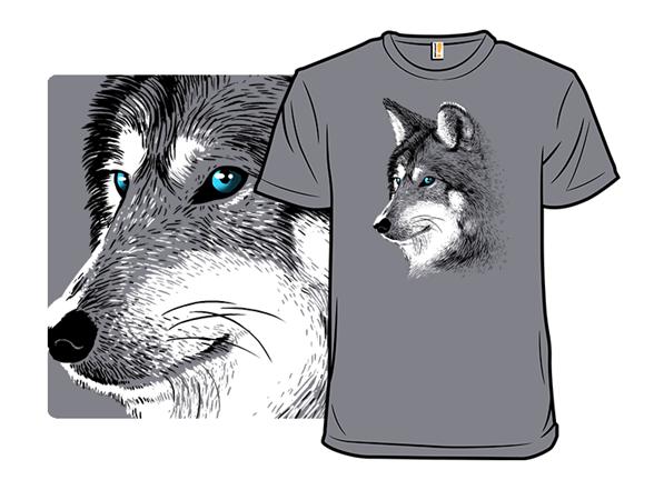 Sketch Wolf T Shirt