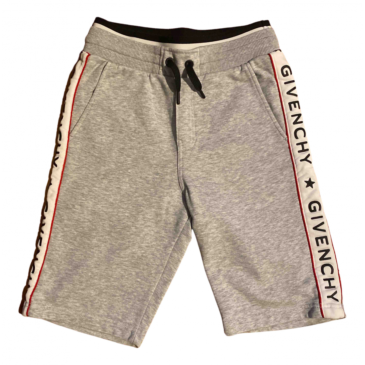 Givenchy N Grey Cotton Shorts for Kids 10 years - up to 142cm FR