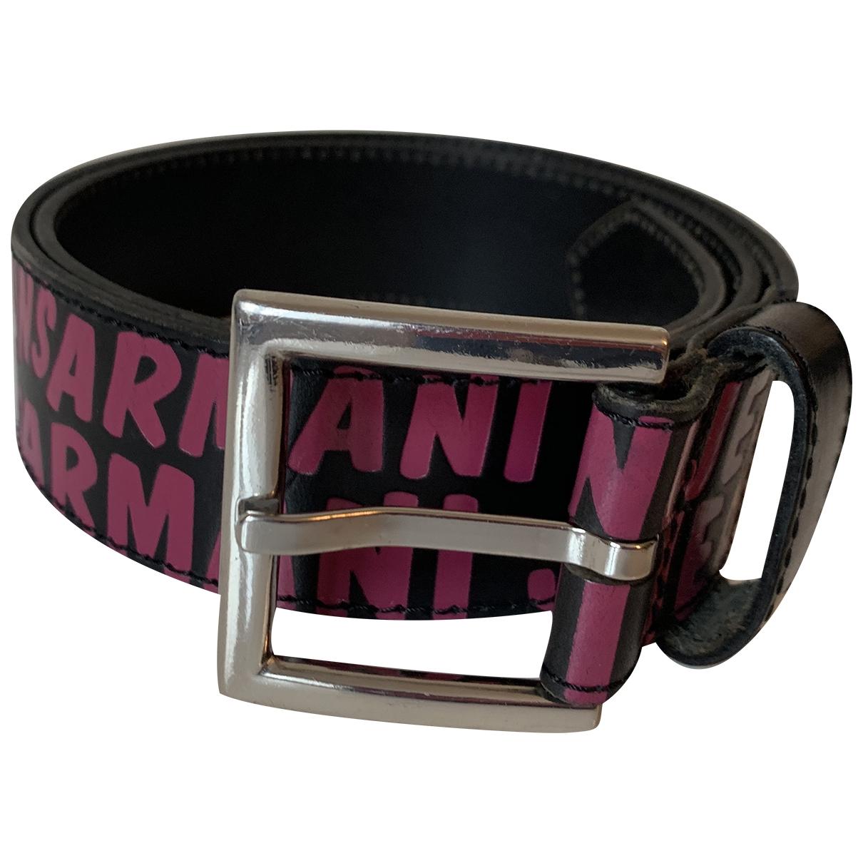 Armani Jeans \N Guertel in  Bunt Leder