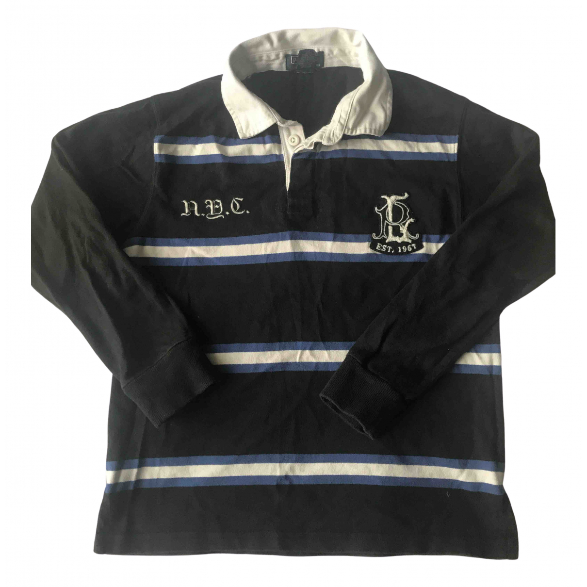 Polo Ralph Lauren \N Black Cotton  top for Kids 10 years - until 56 inches UK