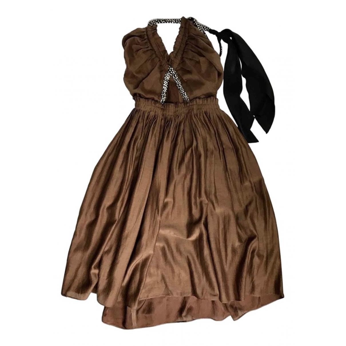 Vestido midi de Seda Chloe