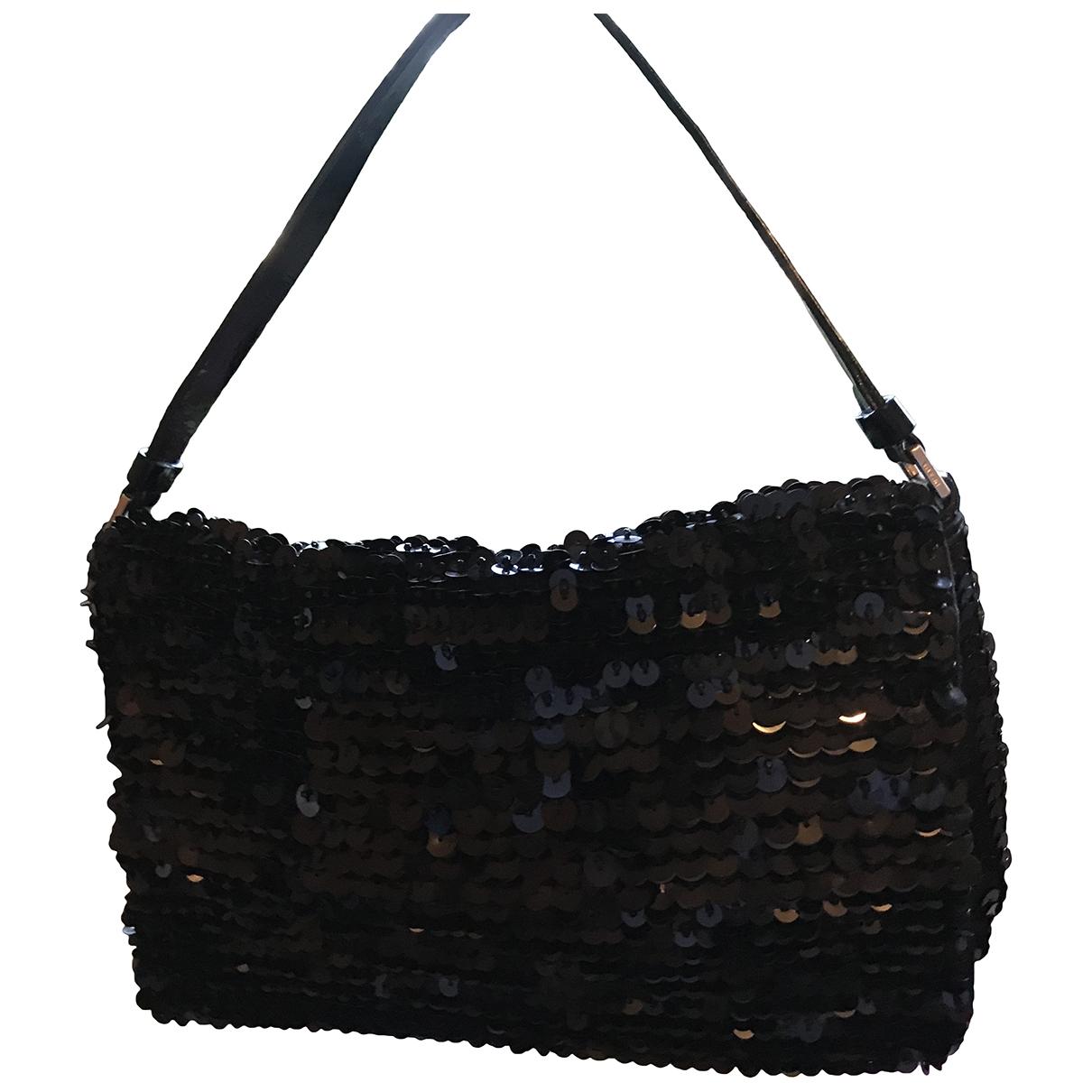 Prada \N Black Glitter handbag for Women \N