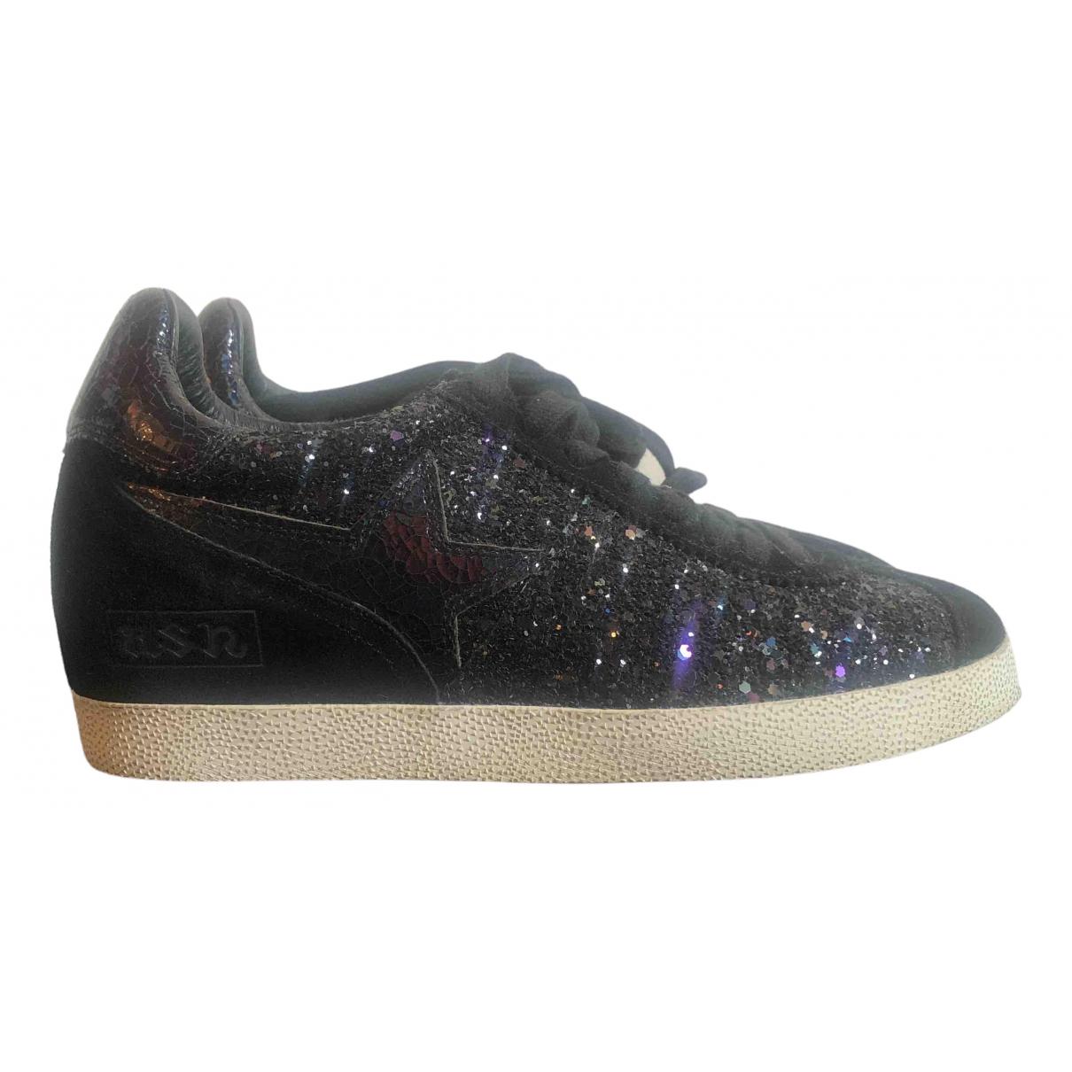Ash \N Sneakers in  Schwarz Mit Pailletten