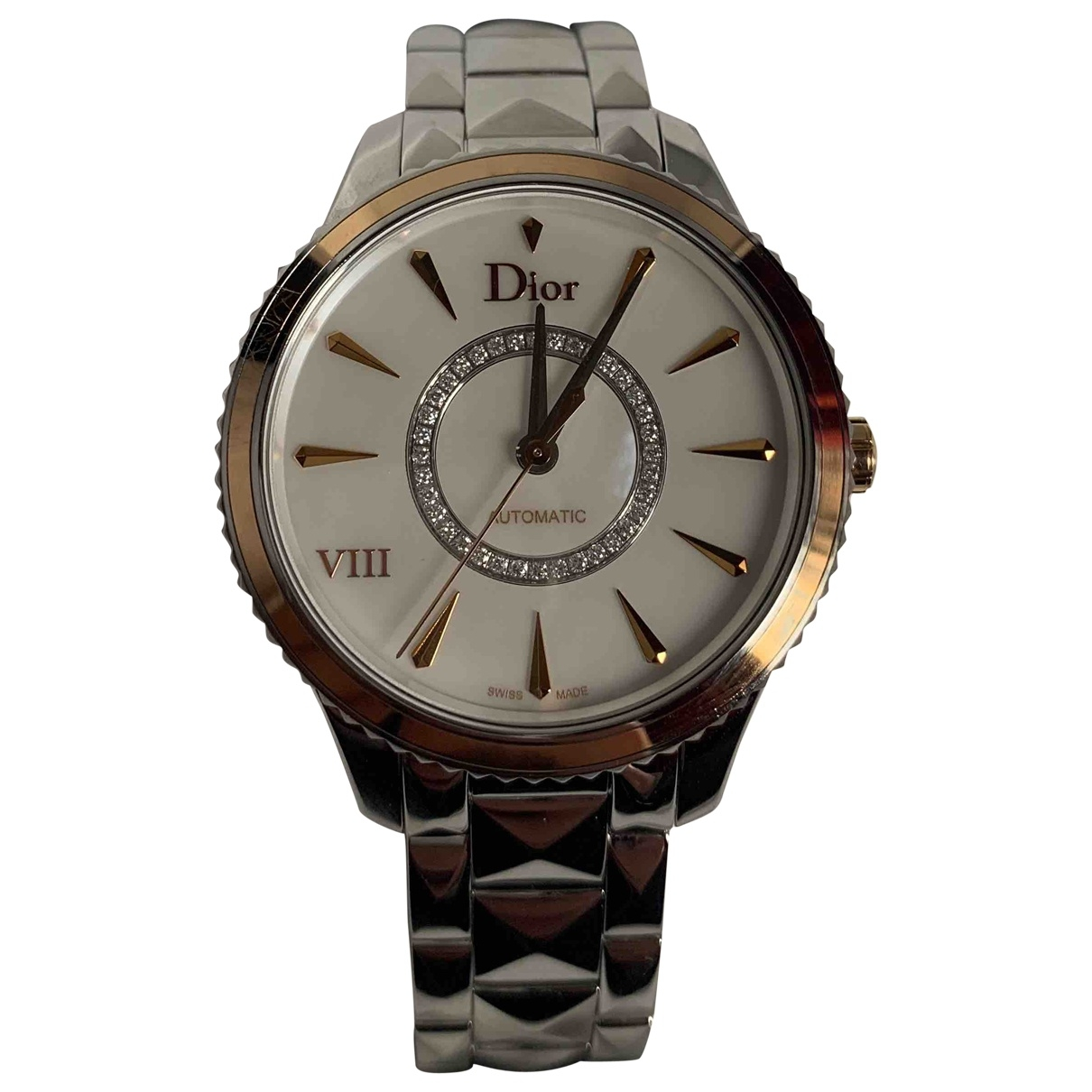 Dior Dior VIII Silver gold and steel watch for Women \N