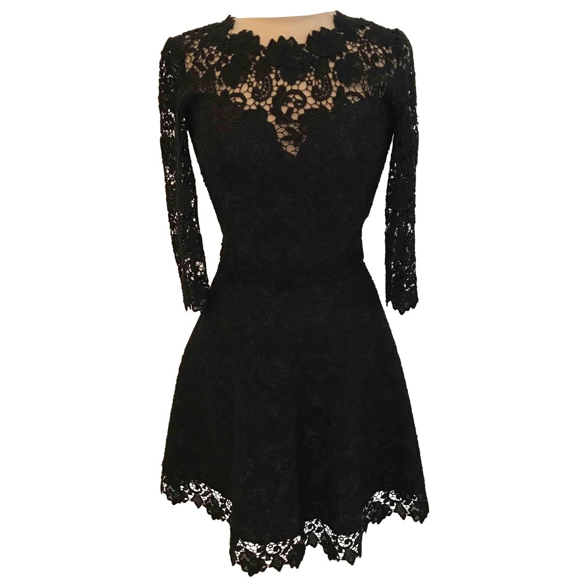 Ermanno Scervino - Robe   pour femme en coton - noir