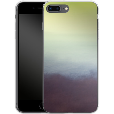 Apple iPhone 8 Plus Silikon Handyhuelle - Sea and Sky von Joy StClaire