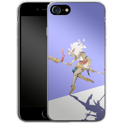 Apple iPhone 7 Silikon Handyhuelle - Basutetta von Boell Oyino