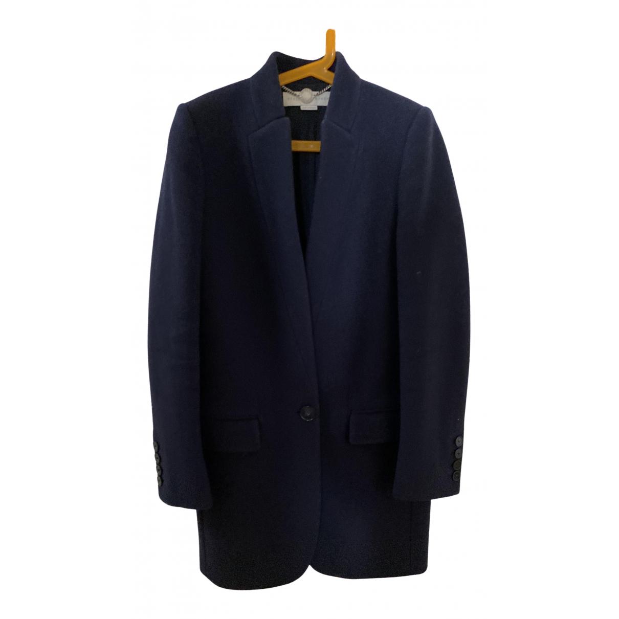 Stella Mccartney N Navy Wool coat for Women 34 FR