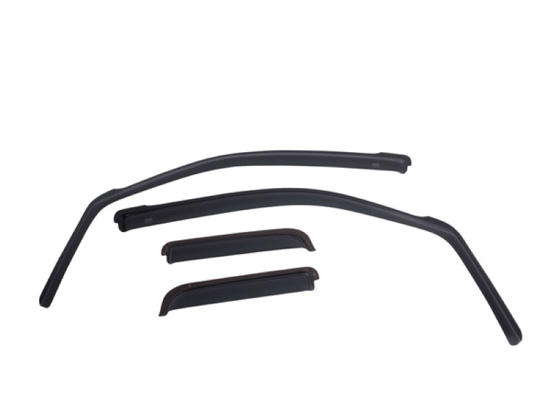 EGR 575091WB Dark Smoke In-Channel Style 4pc Window Visors Toyota Tundra Double Cab 2007-2020