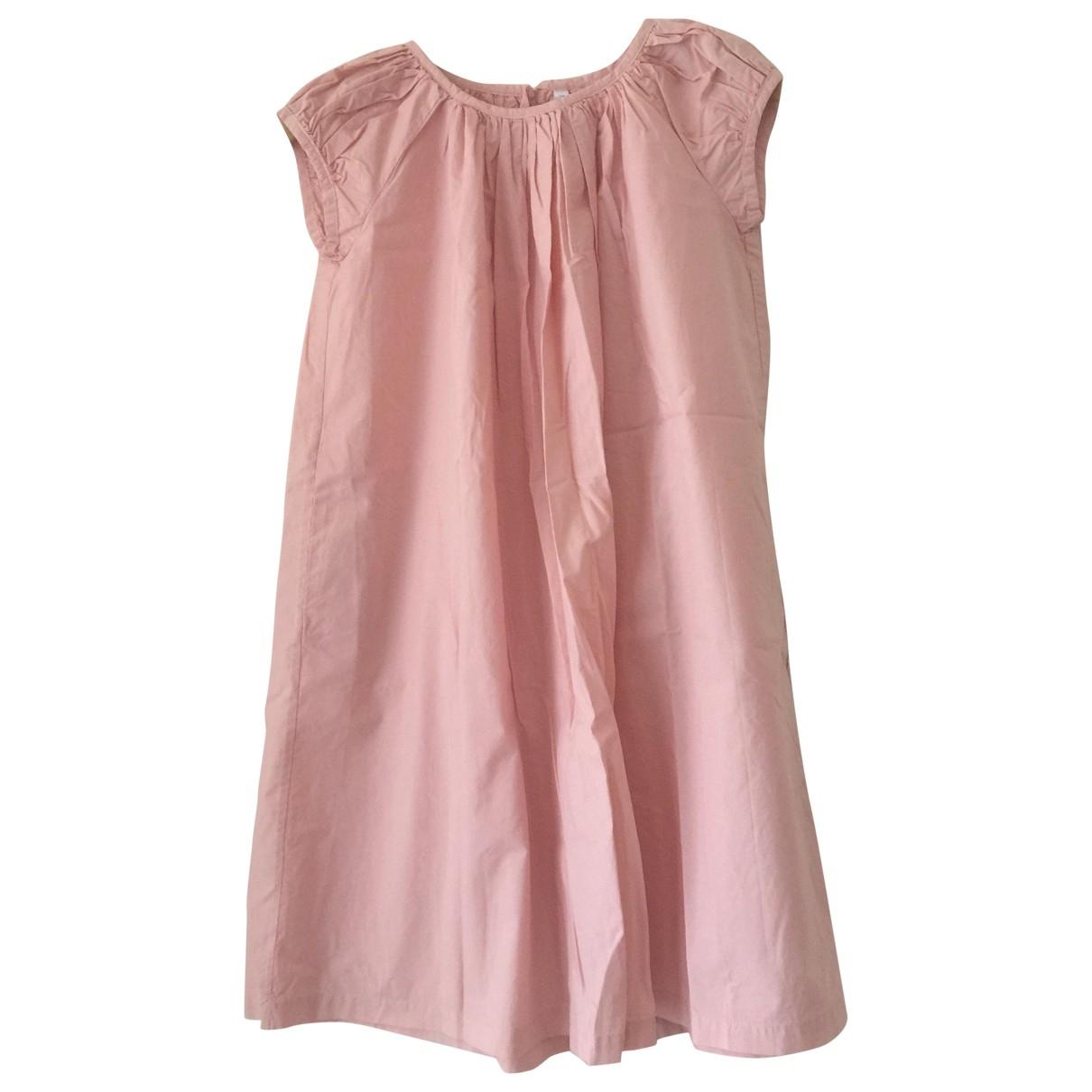 Miller - Robe    pour enfant en coton - rose
