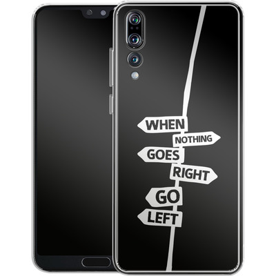 Huawei P20 Pro Silikon Handyhuelle - When Nothing Goes Right von We Make The Cake