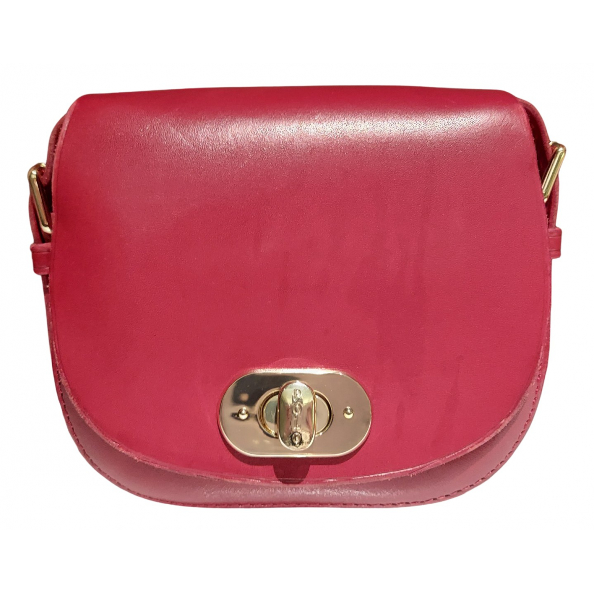 Polo Ralph Lauren N Red Leather Clutch bag for Women N