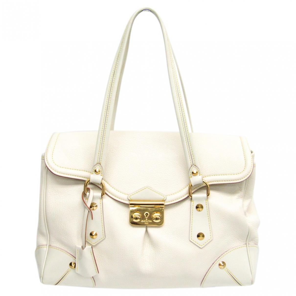 Louis Vuitton \N Handtasche in  Weiss Leder