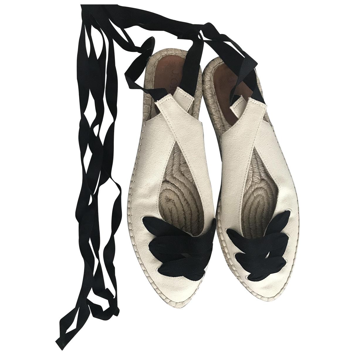 J.crew \N Beige Cloth Espadrilles for Women 8 US
