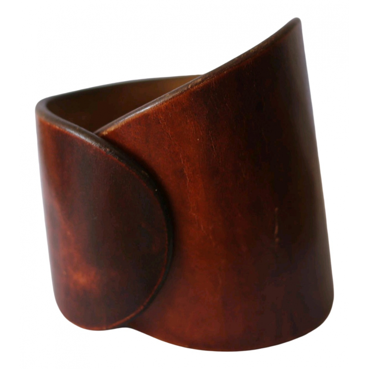 Maison Martin Margiela \N Brown Leather bracelet for Women \N