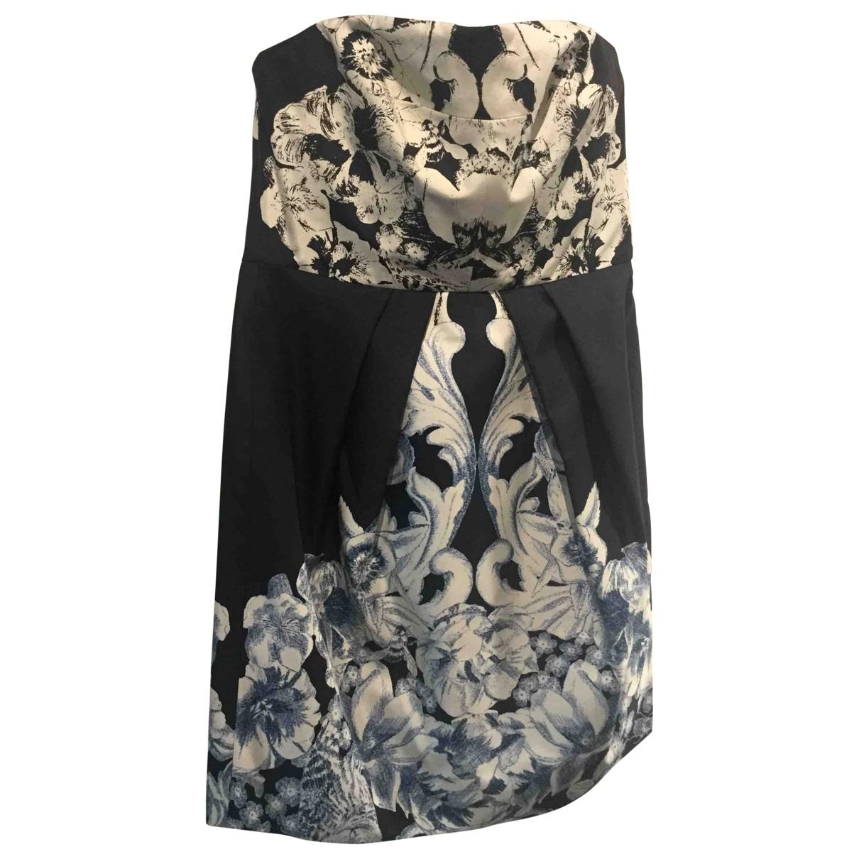 Tibi \N Black Silk dress for Women 4 US