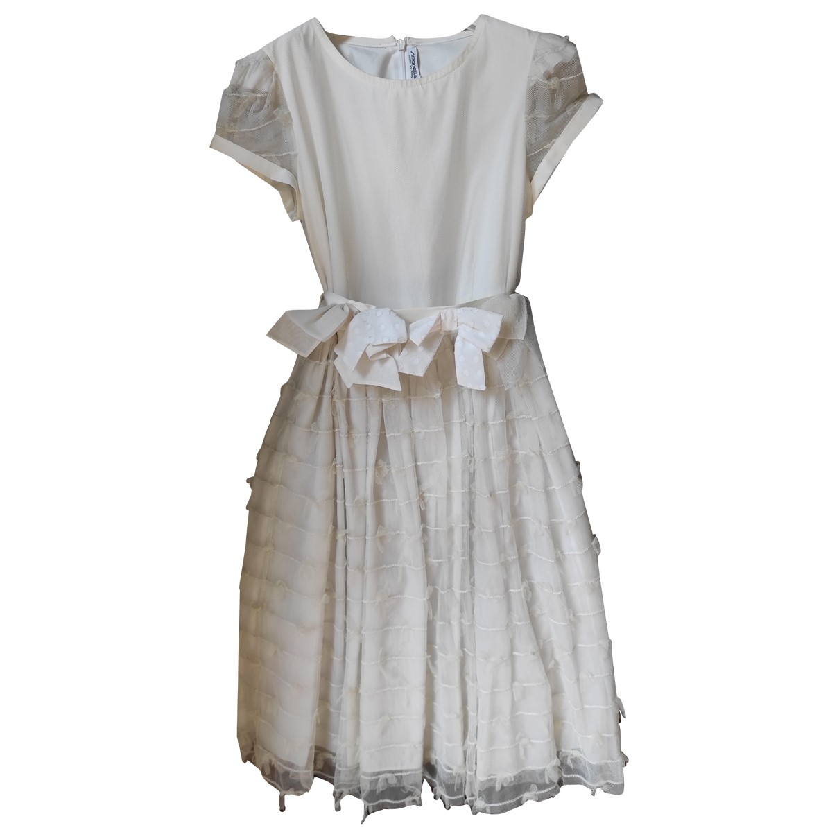 Simonetta - Robe    pour enfant - blanc