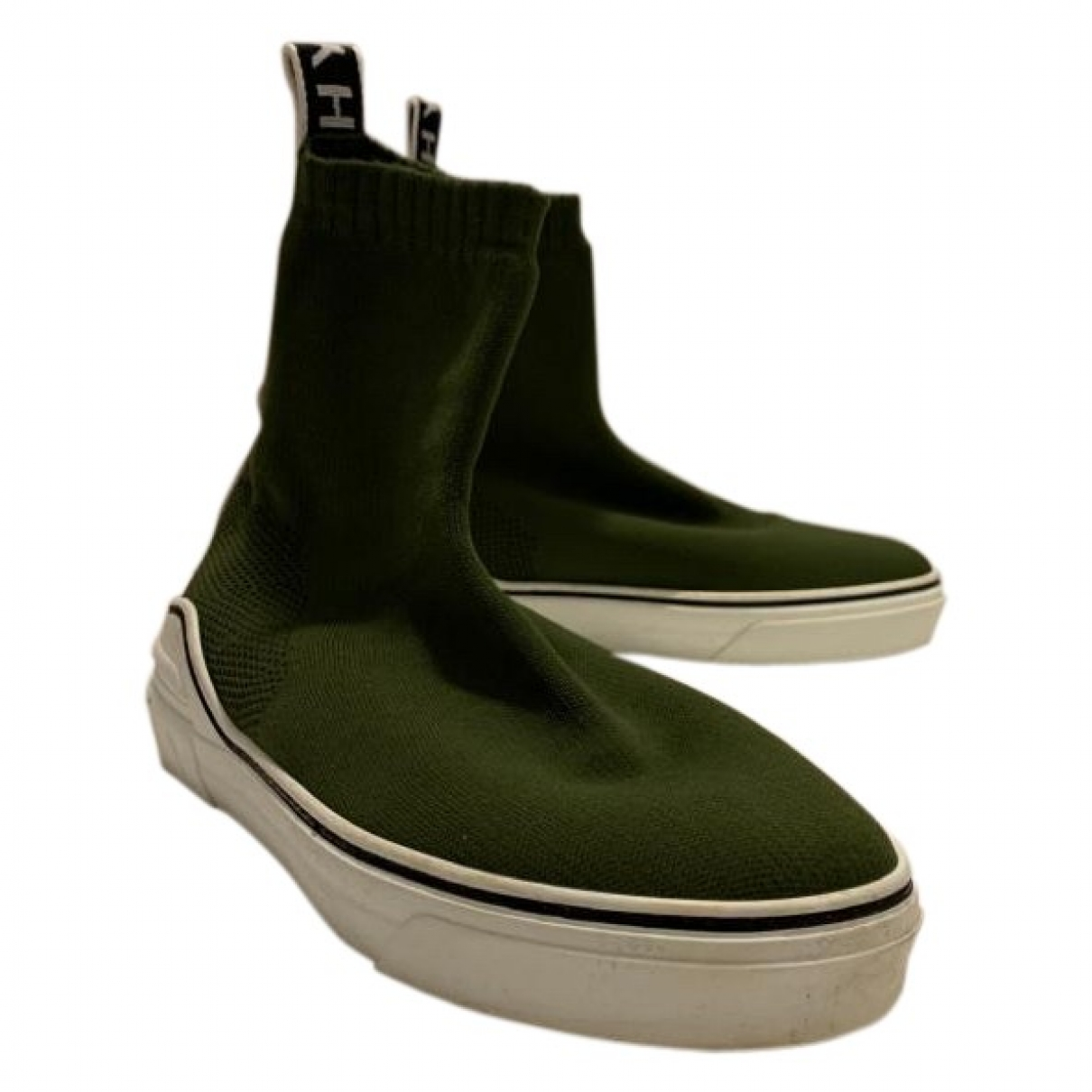 Givenchy George V  Green Trainers for Men 41 EU
