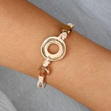 Armband mit rundem Dekor