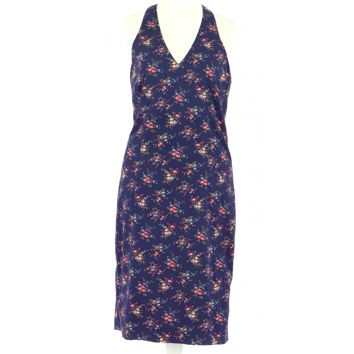 Ralph Lauren - Robe   pour femme en coton - marine