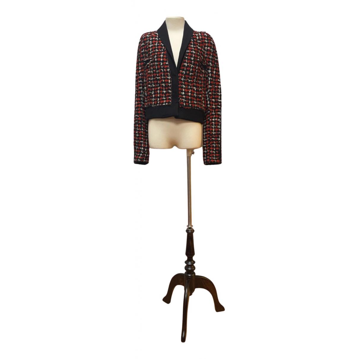 Haider Ackermann - Veste   pour femme en laine - rouge