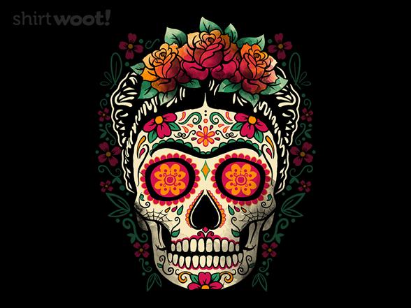Frida Calavera T Shirt