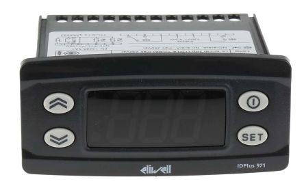 Eliwell IDPlus On/Off Temperature Controller, 74 x 32mm, NTC, PTC, RTD Input, 230 V Supply