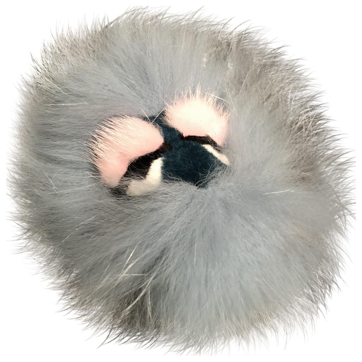 Fendi - Bijoux de sac Bag Bug pour femme en renard - turquoise