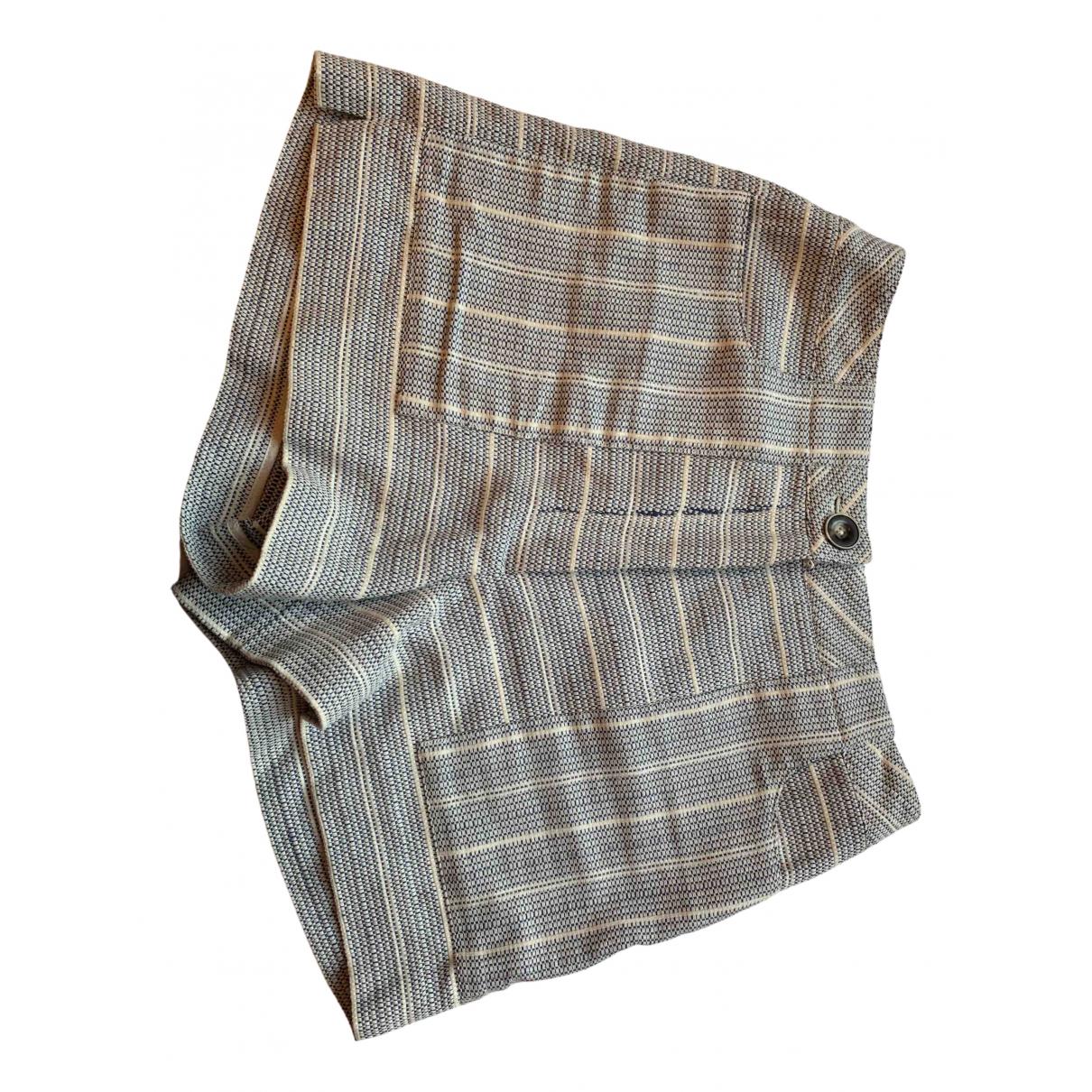 Intermix \N Shorts in  Blau Baumwolle