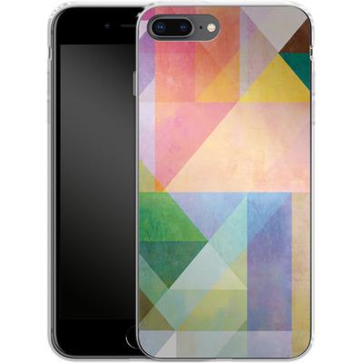 Apple iPhone 7 Plus Silikon Handyhuelle - Color Blocking 1 von Mareike Bohmer