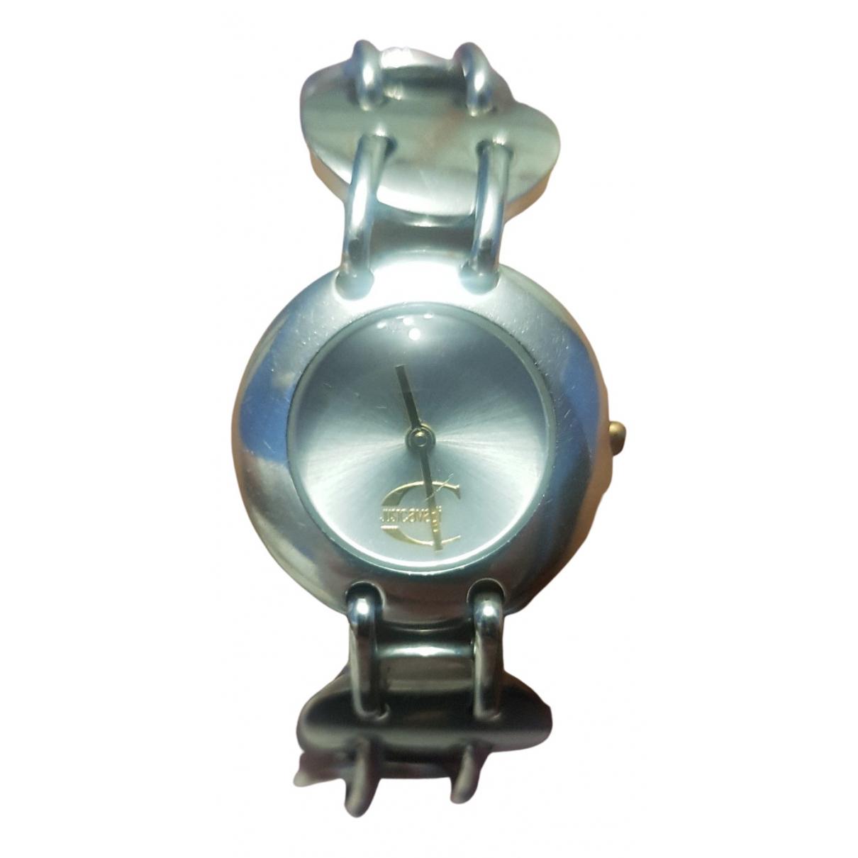 Just Cavalli \N Uhr in  Silber Stahl